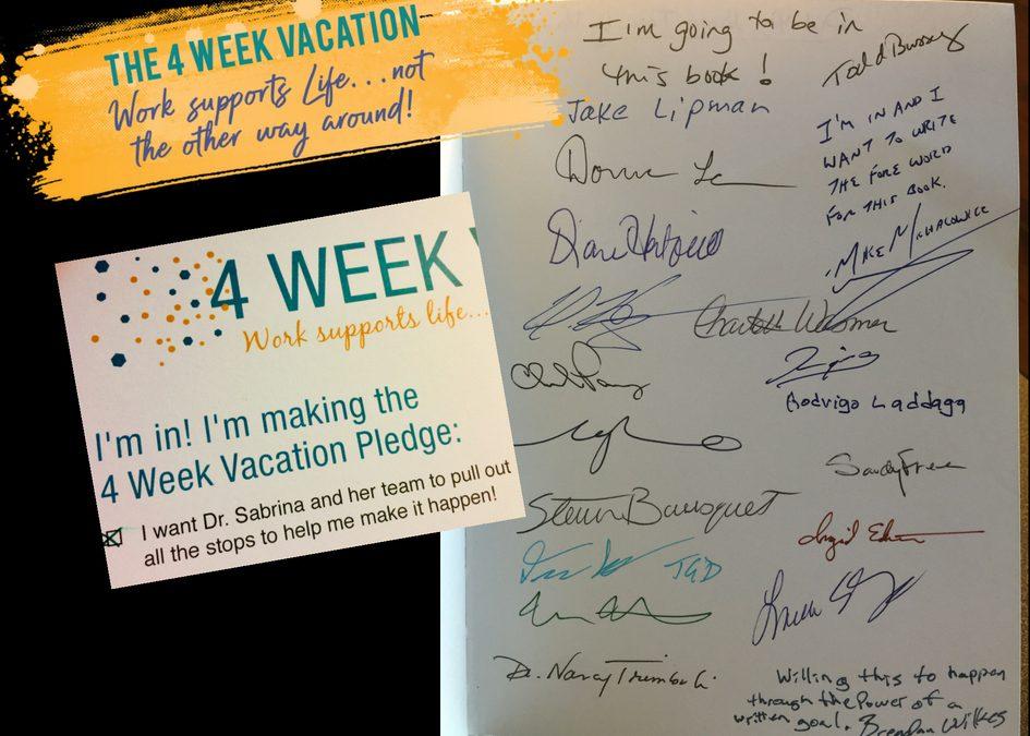 4 Week Vacation Book
